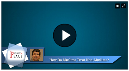 How do Muslims treat non Muslims